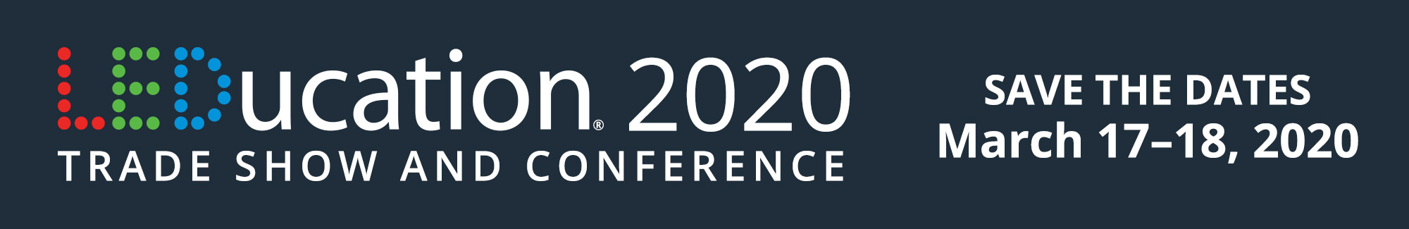 LEDucation 2020 Call for Papers Banner